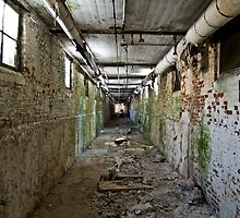 Patient/Utility Tunnels, Norwich State hospital by Jonathan Covington