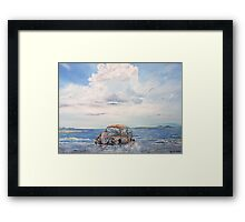 VW Beetle in need of T.L.C. Framed Print