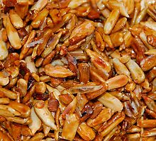Roasted Sunflower Seeds in Soy Sauce  by jojobob