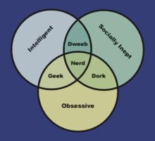 Nerd Venn Diagram by bachelorshall