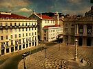 Lisbon....Town Hall square by terezadelpilar~ art & architecture