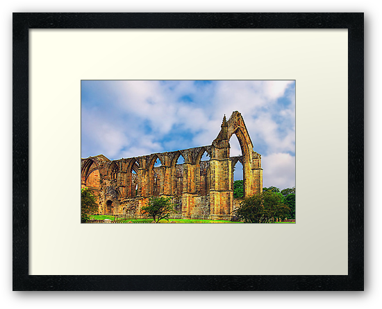 Bolton Abbey North Yorkshire by Trevor Kersley