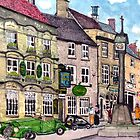 Stow on the Wold market placet, the Talbot Arms by doatley