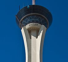 Stratosphere Hotel and Casino in Las Vegas, Nevada by Henry Plumley