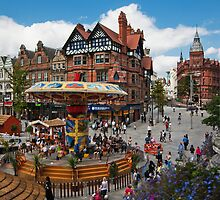 Nottingham City Center by Elaine123