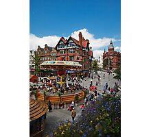Nottingham City Center Photographic Print