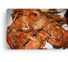 Crab Feast Canvas Print