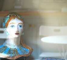 Face from the Past, Reflections of the Future by Celia Strainge