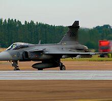 JAS-39 Gripen by DonMc