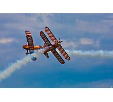 Breitling Biplanes At Airbourne, England Photographic Print