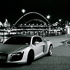 Audi on the Quayside. by David  Parkin