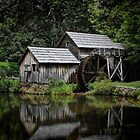 Mabry Mill by Christine Annas