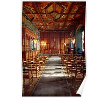 The Chapel Royal, Falkland Palace Poster