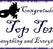 Top ten banner by Linda Press