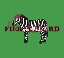 Zebra Zombie... BRAINS!! by FierceBeard