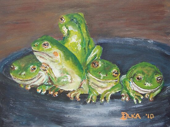 Froggy Friends by Dianne  Ilka