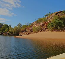 A serene scene in Katherine Gorge by georgieboy98