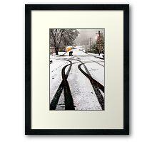 Ash Street Framed Print