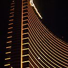 Wynn Las Vegas at night by Henry Plumley