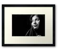 Looking for The Lost Love Framed Print