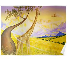 Jeffery Giraffe Poster