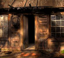 Ned Kelly Home - the hut by Hans Kawitzki