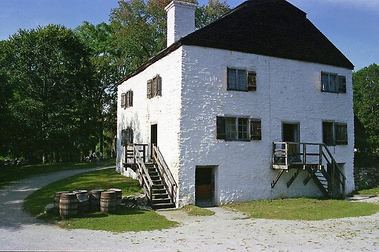 Philipsburg Manor, Tarrytown, New York  by Maggie Hegarty