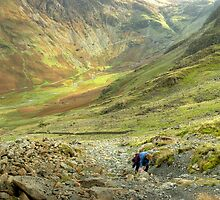 The High Stile Walk....The Ascent by Jamie  Green