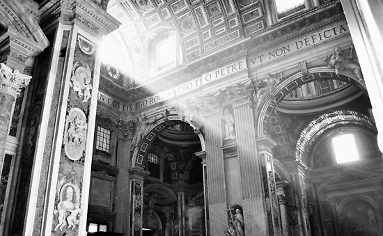 Shining Through The Vatican by Wayne Barber