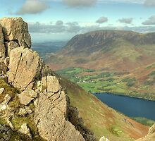 The High Stile Walk....Buttermere Below by VoluntaryRanger
