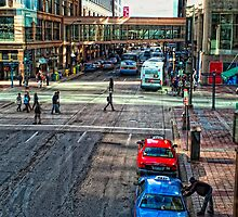 Downtown Minneapolis  by susan stone