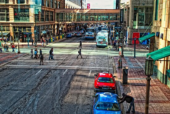 Downtown Minneapolis  by susan stone