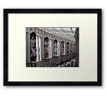 Yankee Stadium Interior 1 Framed Print
