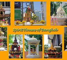 Thailand - Spirit Houses of Bangkok by DAdeSimone