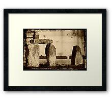 Stonehenge, Amesbury UK  ©  Framed Print