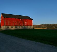 Big Red Barn by Marcia Rubin