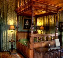 The Queen's Room, Falkland Palace by Christine Smith
