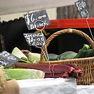 Vegetables for Sale - Rocks Market Sydney Australia by SuziTC