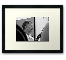 my friend Nuccio Framed Print