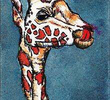 Yummy Giraffe by anissa147