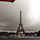 Eiffel in Red! by Gursimran Sibia