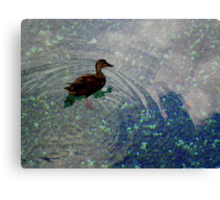 Lil' Duckie Canvas Print