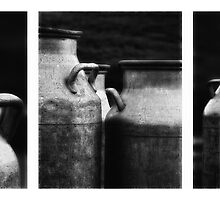 Old Milk Containers by johannesfrank