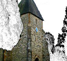 St Mary's Church. Hadlow. Kent. UK by Mel Harrison