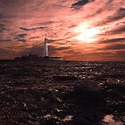 Sunrise over St Marys Island by Bootkneck