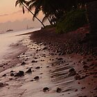 Rocks at Sunset Lahaina Maui, Hawaii by ZIGSPHOTOGRAPHY