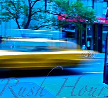 Rush Hour NYC by LaSan