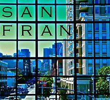 San Francisco Scrabble by LaSan