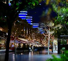 Night Time Walkway, Crown Casino, Melbourne by ScottH