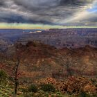 A Single Beam over the Grand Canyon by Terence Russell